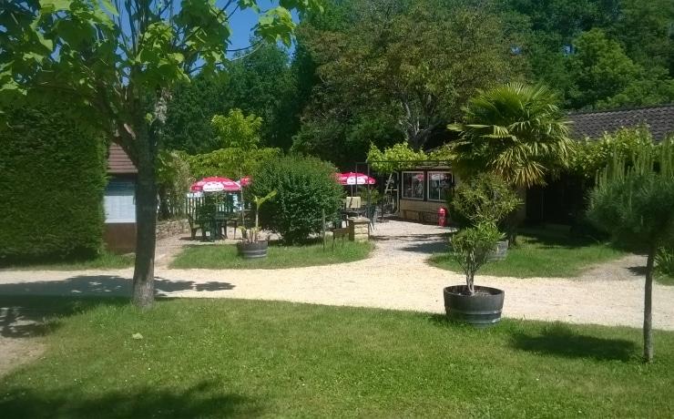Camping Le Rêve - Terrasse du restaurant