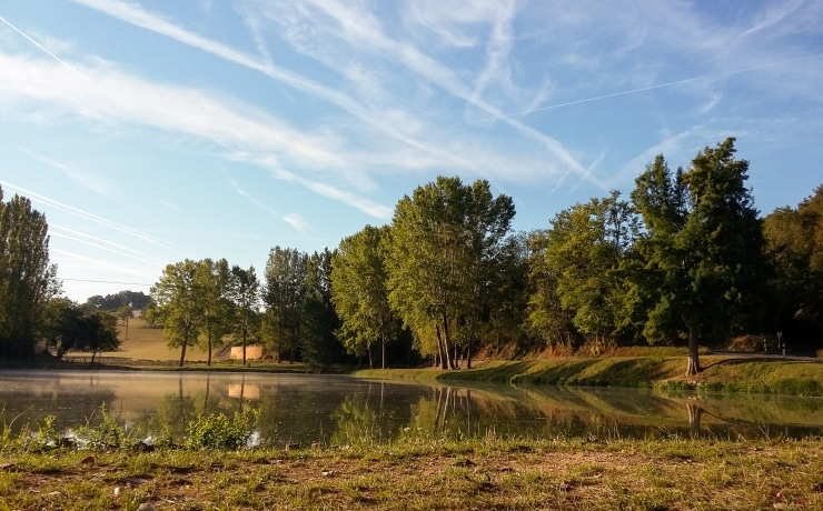 Fishing pond in Gourdon © Lot Tourisme A. Leconte