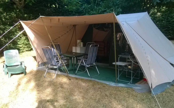 Camping De Waard.Ready Tent Hire All Equipped Tents Camping Le Reve