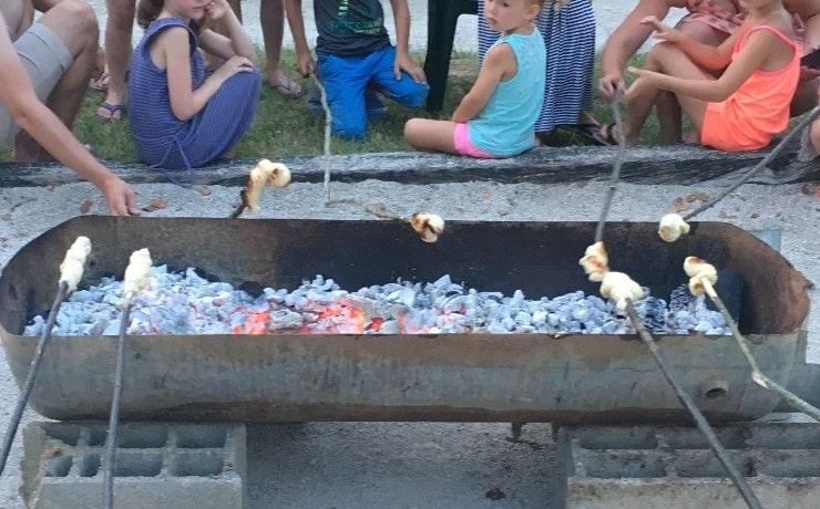 Camping Le Rêve - Cuisson du pain
