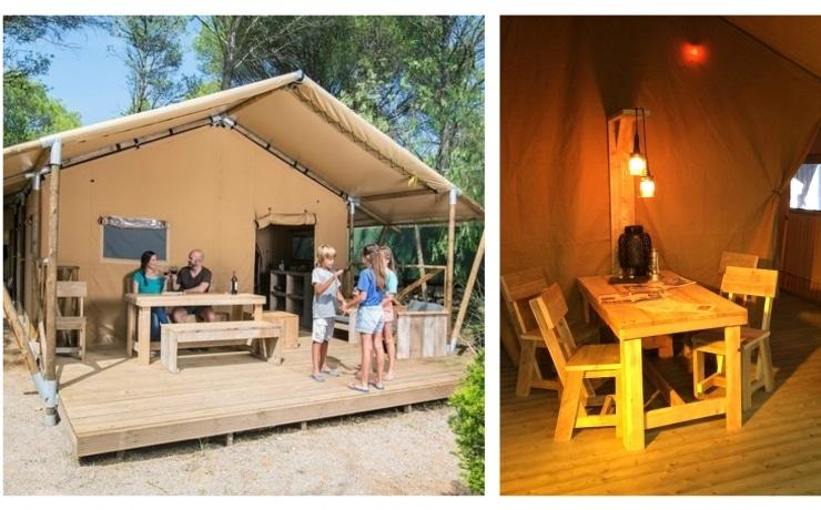 Nieuw in 2018: Lodge Tent