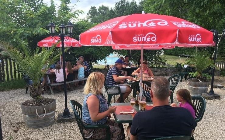 Camping Le Rêve - De restaurantbar