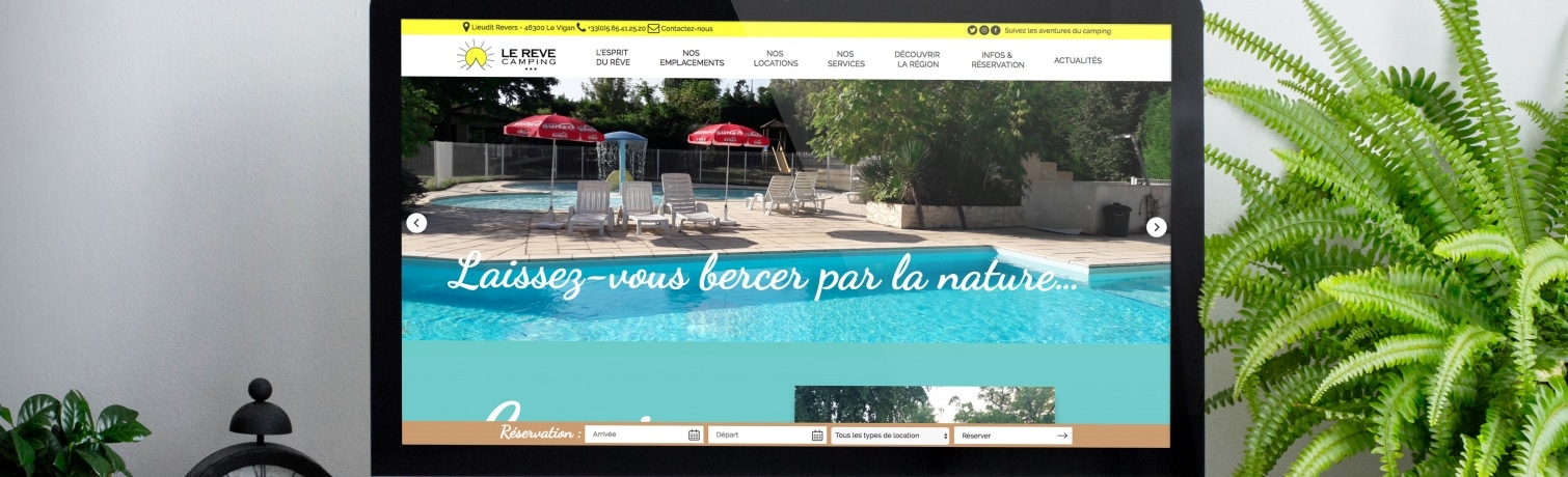 Camping Le Rêve - New WEB site