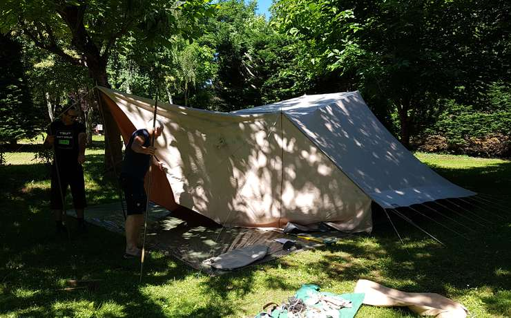 Camping Le Rêve - Auvent