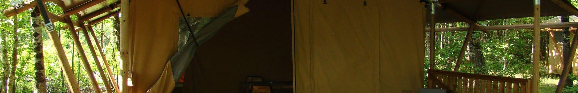 Camping Le Rêve - Nos tentes lodges