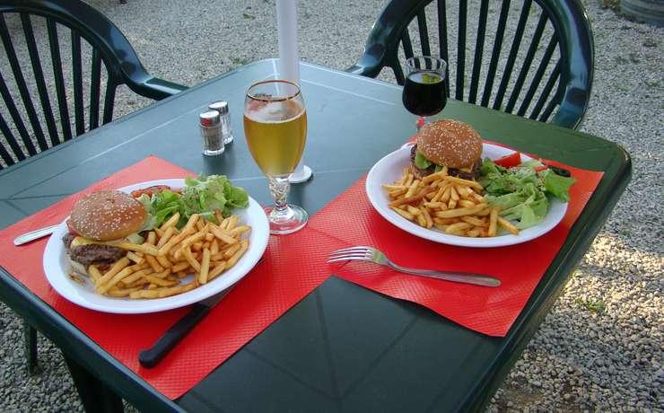 Camping Le Rêve - Hamburger
