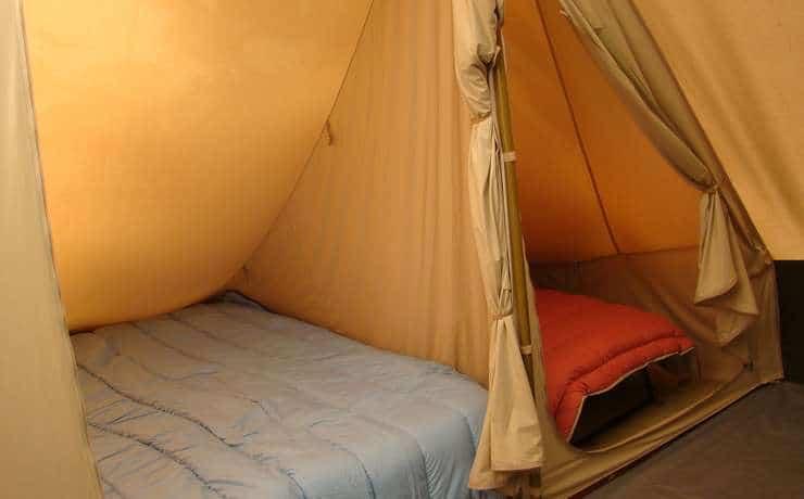 Camping Le Rêve - 3 chambres intérieures