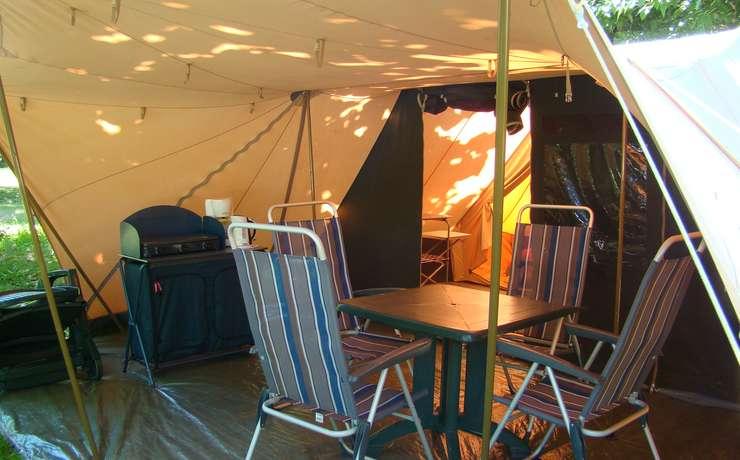 Camping Le Rêve - Tente de Waard