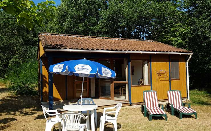 Camping Le Rêve - Wooden chalet