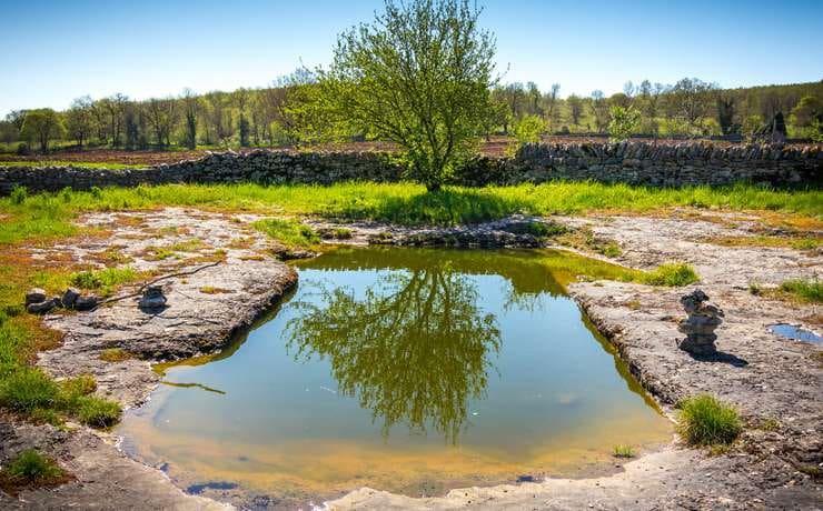 Lac des Places à Quissac © Lot Tourisme C. Novello