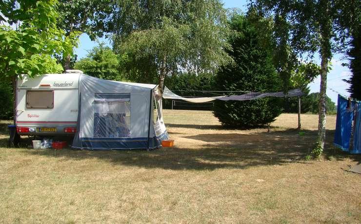 Emplacement pour tente, caravane et camping-car avec vue