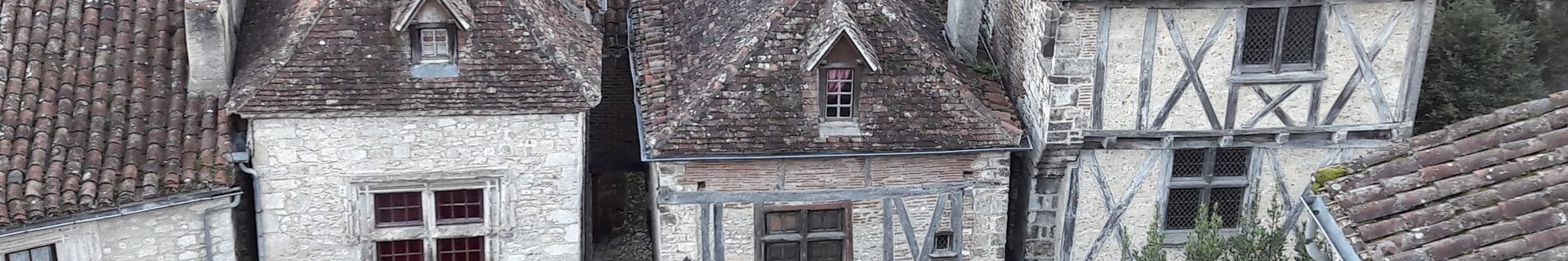 Causses du Quercy - Le Rêve - Maisons médiévales