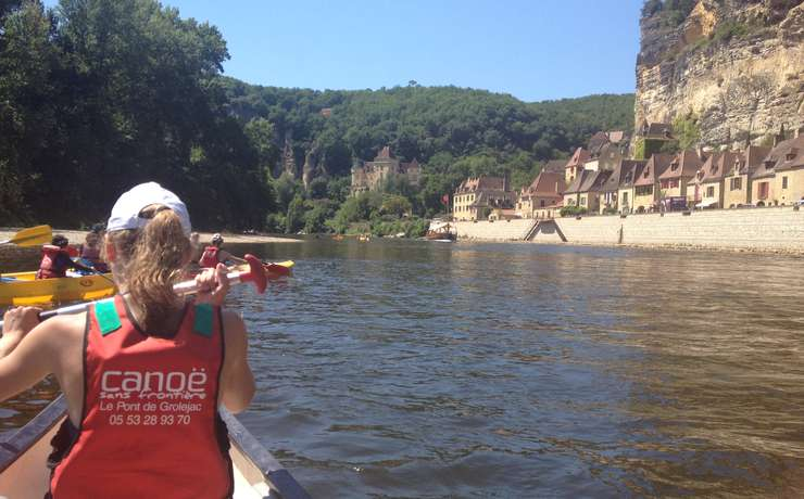 Camping Le Rêve - Canoeing down the Dordogne - Castles tour