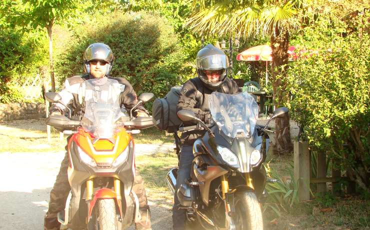 Camping Le Rêve - Motards
