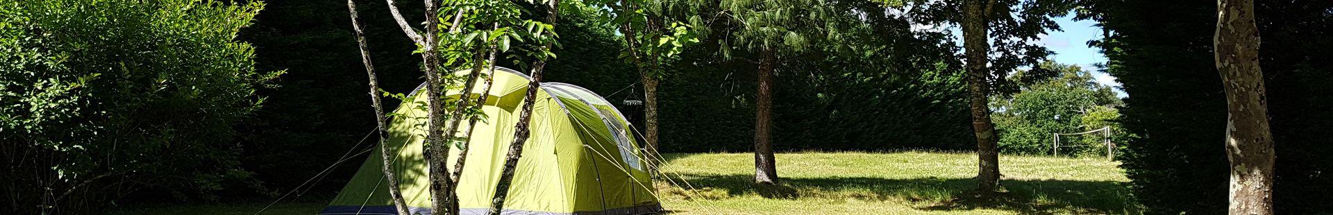 Emplacement de camping - Le Rêve - Emplacement avec vue