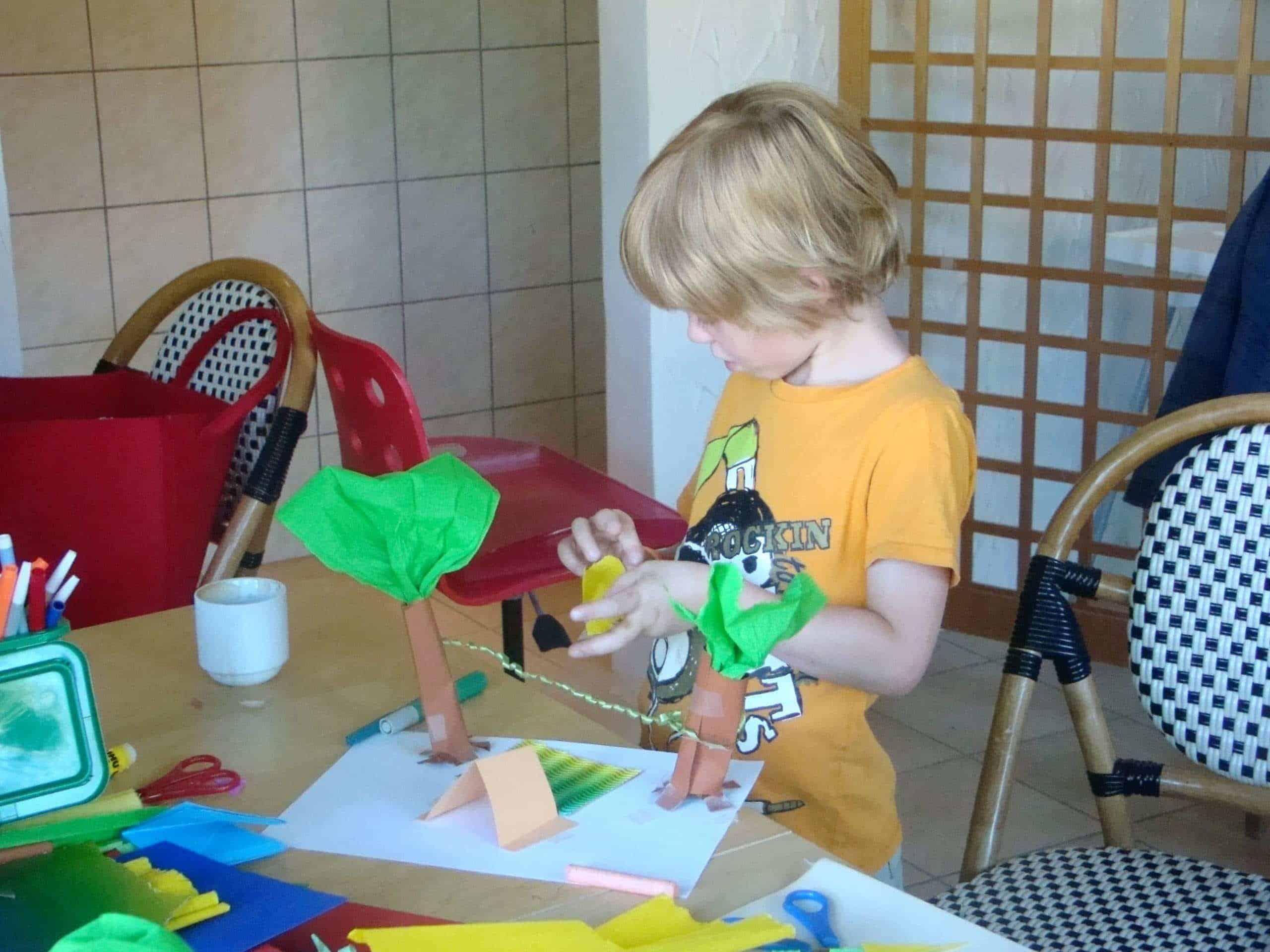 Camping Le Rêve - Atelier enfant