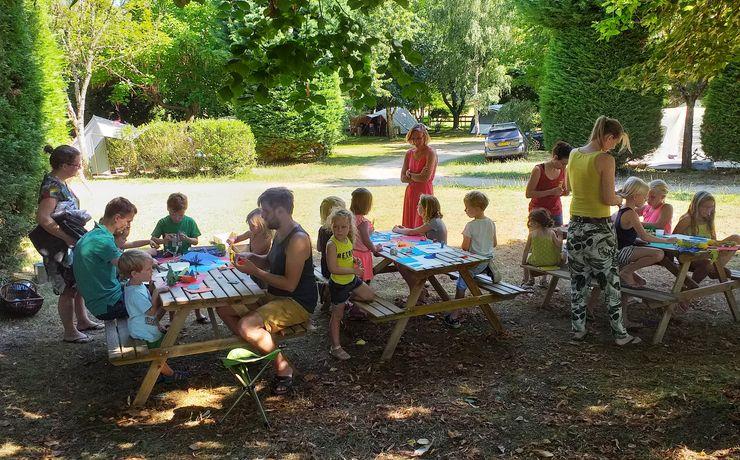 Camping le rêve - Atelier Land Art
