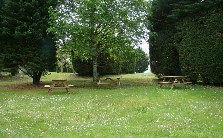 Campsite Le Rêve - Picnic tables