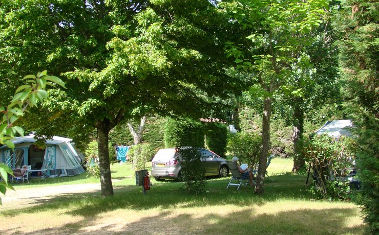 Camping Le Rêve - natuur plaats