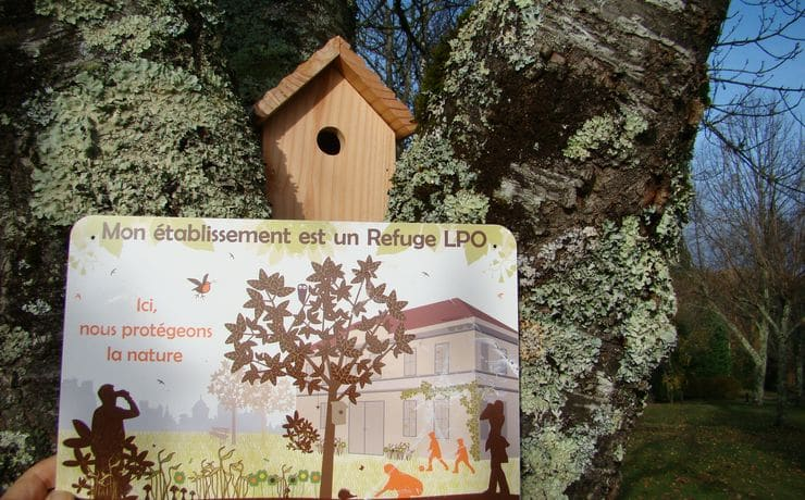 Nature Protection - LPO shelter