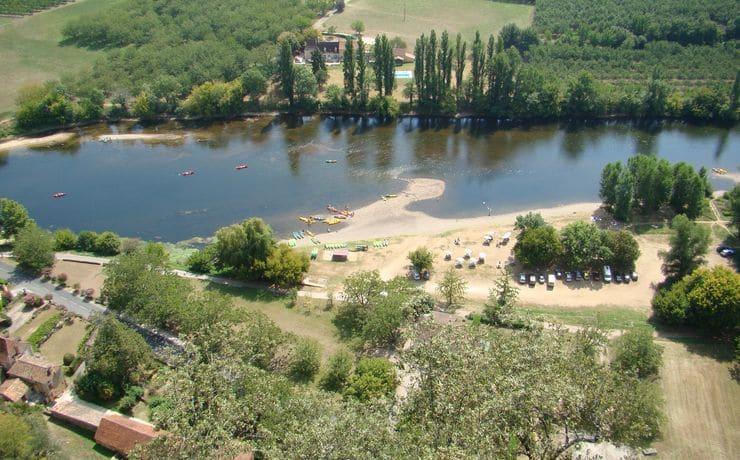 Camping Le Rêve - Descente Dordogne en canoë - Circuit des châteaux