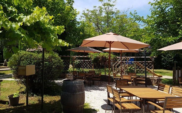 Restaurant van de camping - Terras
