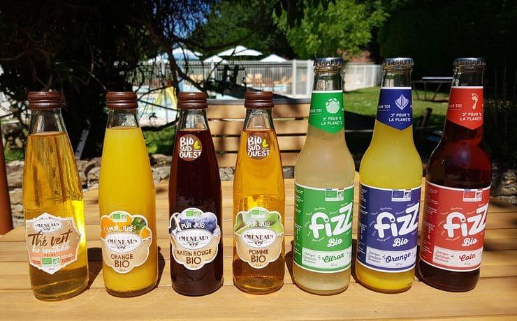 Nptre choix de boissons BIO