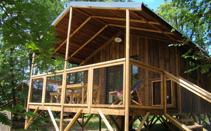Location cabane - Le Rêve - Cabane sur pilotis MORPHEE