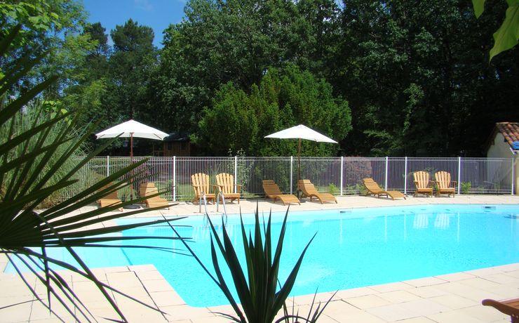 Camping avec piscine chauffée - Le Rêve - Grande piscine