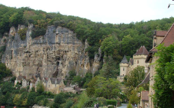 Dordogne-vallei - La Roque Gageac